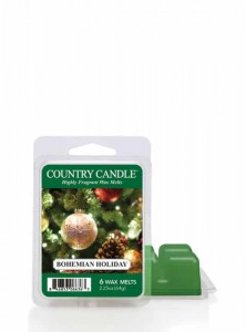 Country Candle Bohemian Holiday Wosk Zapachowy