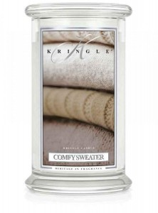 Kringle Candle COMFY SWEATER duża świeca