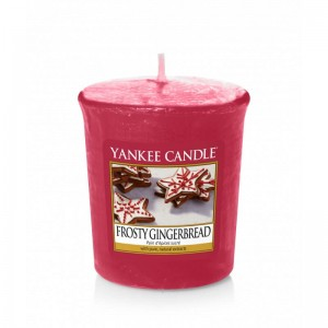 Yankee Candle FROSTY GINGERBREAD świeca sampler votive