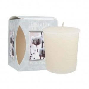 Bridgewater WHITE COTTON  świeca votive