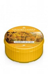 Country Candle Golden Autumn świeca daylight