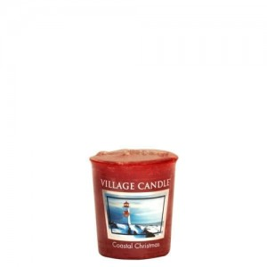 Village Candle COASTAL CHRISTMAS świeca votive sampler
