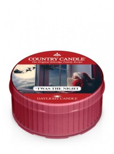 Country Candle  'TWAS THE NIGHT daylight