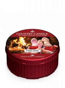 Country Candle FIRESIDE świeca daylight