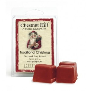 Chestnut Hill Candle TRADITIONAL CHRISTMAS  KOSTKA wosk zapachowy