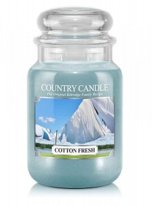 Country Candle COTTON FRESH duża świeca