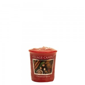 Village Candle CHRISTMAS SPICE świeca votive sampler