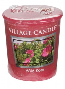 Village Candle WILD ROSE świeca votive