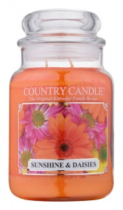 Country Candle SUNSHINE & DAISIES  duża świeca