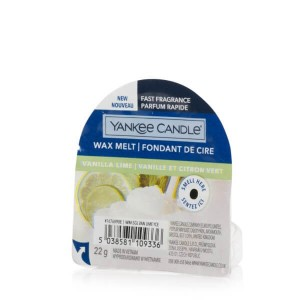 Yankee Candle Vanilla Lime wosk zapachowy