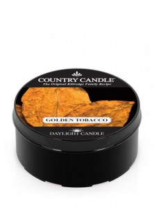 Country Candle  GOLDEN TABACCO daylight
