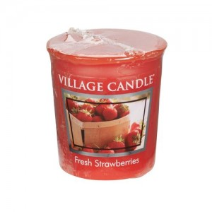 Village Candle FRESH STRAWBERRIES świeca votive