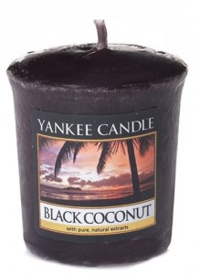 Yankee Candle BLACK COCONUT  świeca sampler