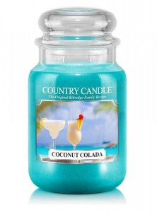Country Candle Coconut colada duża świeca