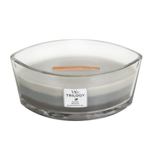 Woodwick Warm Woods Świeca Hearthwick Trilogy