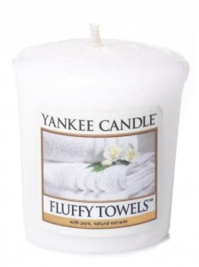 Yankee Candle FLUFFY TOWELS  świeca sampler