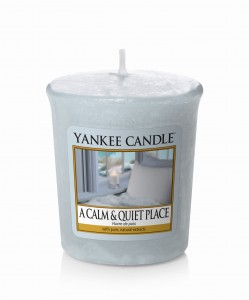 Yankee Candle A CALM & QUIET PLACE  świeca sampler