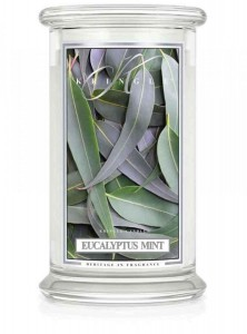 Kringle Candle  EUCALYPTUS MINT duża świeca