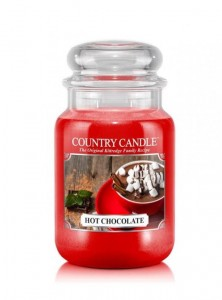 Country Candle HOT CHOCOLATE duża świeca