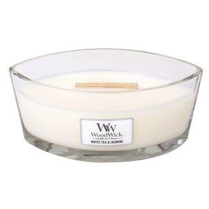 Woodwick White Tea & Jasmine świeca Hearthwick
