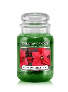 Country Candle HOME FOR CHRISTMAS  duża świeca
