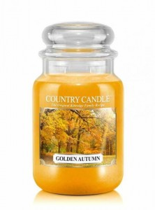 Country Candle GOLDEN AUTUMN duża świeca