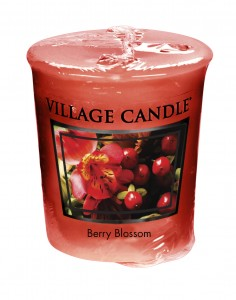 Village Candle BERRY BLOSSOM  świeca votive