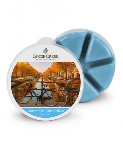 Goose Creek Candle AUTUMN IN AMSTERDAM wosk zapachowy
