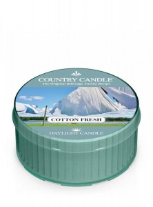 Country Candle COTTON FRESH