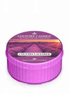 Country candle Country Lavender świeca daylight