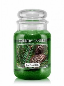 Country Candle BALSAM FIR  duża świeca