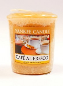 Yankee Candle CAFE AL FRESCO świeca sampler USA