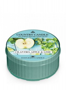 Country Candle CILANTRO APPLE & LIME daylight