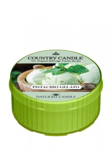 Country Candle  PISTACHIO GELATO  daylight
