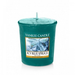 Yankee Candle ICY BLUE SPRUCE świeca sampler votive