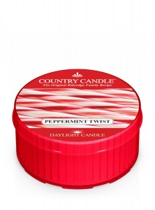 Country Candle PEPPERMINT TWIST