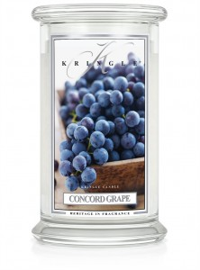 Kringle Candle  CONCORD GRAPE duża świeca