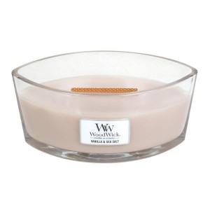 Woodwick VANILLA & SEA SALT hearthwick