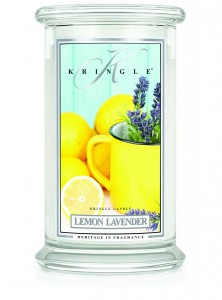 Kringle Candle LEMON LAVENDER duża świeca