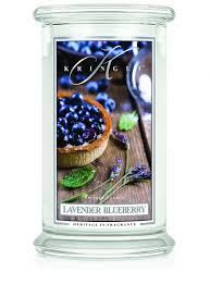 Kringle Candle LAVENDER BLUEBERRY duża świeca