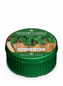 Country Candle BALSAM & CEDAR