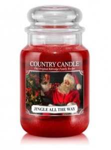 Country Candle JINGLE ALL THE WAY duża świeca