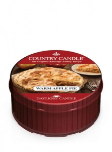 Country Candle WARM APPLE PIE
