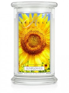 Kringle Candle SUNFLOWER duża świeca