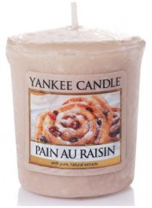 Yankee Candle PAIN AU RAISIN świeca sampler