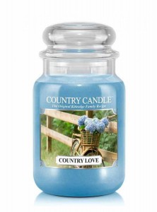 Country Candle COUNTRY LOVE duża świeca