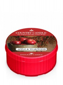 Country Candle APPLE TEAKWOOD