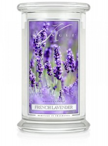 Kringle Candle FRENCH LAVENDER duża świeca