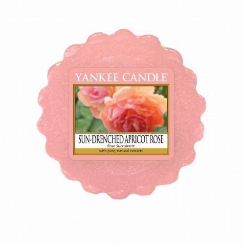 Sun drenched Apricot Rose Yankee Candle wosk