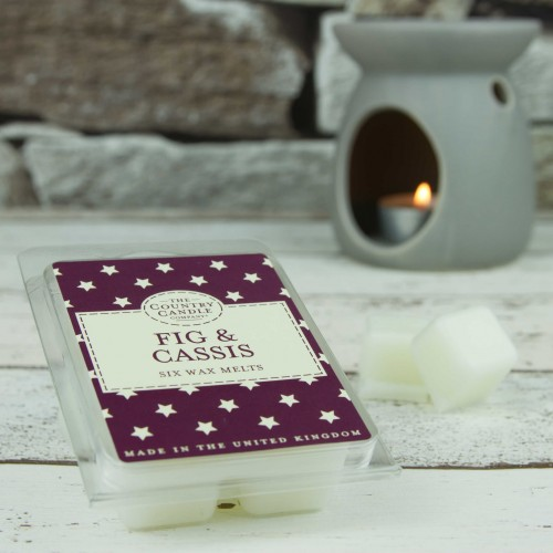 The Country Candle Fig & Cassis wosk zapachowy  Superstars